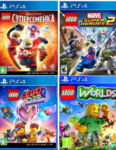 Игра серии LEGO: Marvel Super Heroes 2, Суперсемейка, Movie 2: Videogame, Worlds